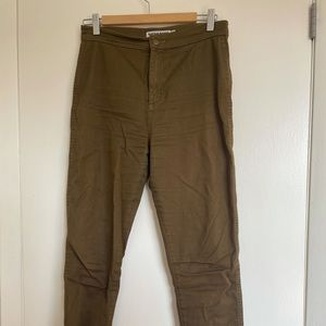 Olive American Apparel Jeans